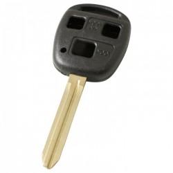 Toyota 3-knops sleutelbehuizing - sleutelbaard punt (+/- 47mm)