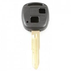 Toyota 2-knops sleutelbehuizing - sleutelbaard punt (+/- 50mm)