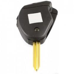 Citroën 2-knops klapsleutel - sleutelbaard kruisvormig