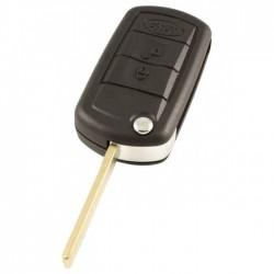 Land Rover 3-knops klapsleutel - sleutelbaard recht