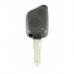 Peugeot 2-knops sleutelbehuizing voor oudere modellen - sleutelbaard punt met opening - IR opening