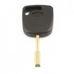 Ford contactsleutel met 4D60 transponder - sleutelbaard rond