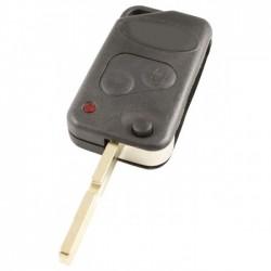 Land Rover 2-knops klapsleutel - sleutelbaard recht met inkeping midden