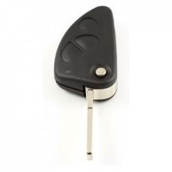 Alfa 3-knops klapsleutel - sleutelbaard recht