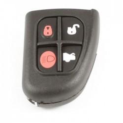 Jaguar 4-knops klapsleutelbehuizing (zonder sleutelbaard)