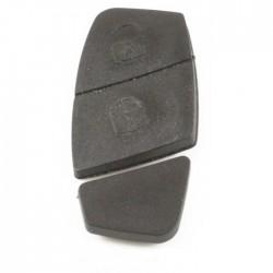 Fiat 2-knops drukknoppen zwart