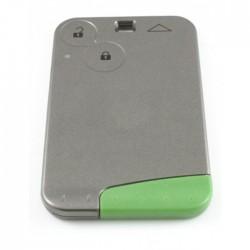 Renault Espace smartcard 2-knops sleutelbehuizing