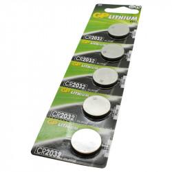 Knoopcelbatterij CR2032 - 5 stuks