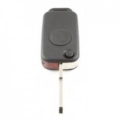 Mercedes 1-knops klapsleutel - sleutelbaard punt met inkeping