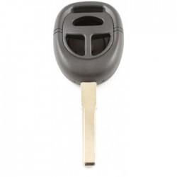Saab 3-knops sleutelbehuizing - sleutelbaard recht met inkeping zijkant