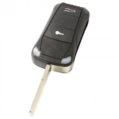 Porsche 2-knops klapsleutel met paniek knop
