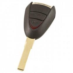 Porsche 2-knops sleutelbehuizing - sleutelbaard recht (model 1)