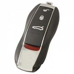 Porsche 4-knops smart key met paniek knop
