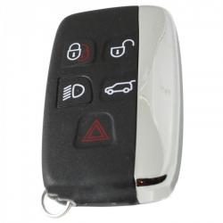 Jaguar 5-knops smart key sleutelbehuizing
