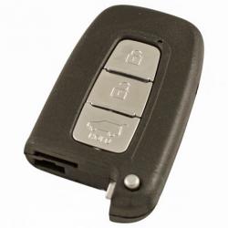 Hyundai 3-knops Smart Key behuizing