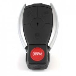 Mercedes 3-knops Smart Key met paniek knop (model 1)