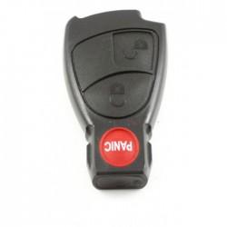 Mercedes 2-knops Smart Key met paniek knop