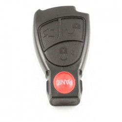 Mercedes 3-knops Smart Key met paniek knop (model 2)