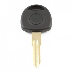 Opel contactsleutel - sleutelbaard punt met inkeping rechts