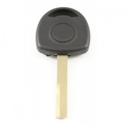 Opel contactsleutel met transponderhouder - sleutelbaard recht