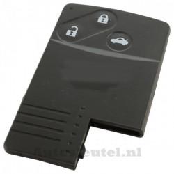Mazda smartcard  3-knops sleutelbehuizing