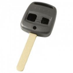 Subaru 2-knops sleutelbehuizing - sleutelbaard recht