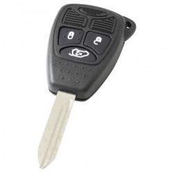 Jeep 3-knops sleutelbehuizing - sleutelbaard punt
