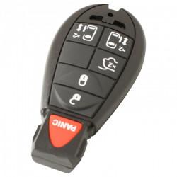 Chrysler 5-knops smart key behuizing met paniek knop