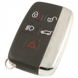 Land Rover 5-knops smart key sleutelbehuizing (model 2)