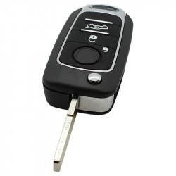 Fiat 3-knops klapsleutel - sleutelbaard recht