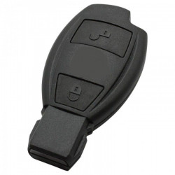 Mercedes 2-knops Smart Key Behuizing (model 4)
