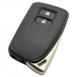 Lexus 2-knops klapsleutel - sleutelbaard recht