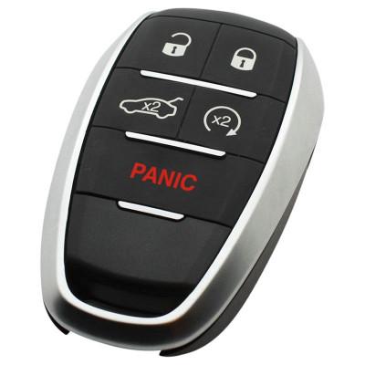 Alfa 4-knops Smart Key Behuizing met paniek knop