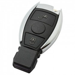 Mercedes 2-knops Smart Key Behuizing (model 5)