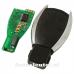 Mercedes 3-knops smart key behuizing met elektronica 433MHZ