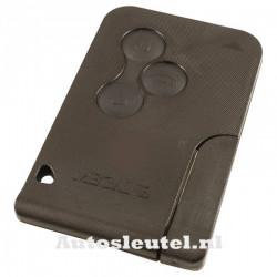 Renault Megane 3-knops smartcard - sleutelbaard punt met elektronica 433MHZ - PCF7947 transponder