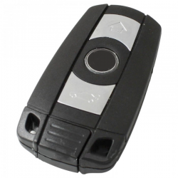 BMW 3-knops Smart Key Behuizing met elektronica 433MHZ - 7942 transponder