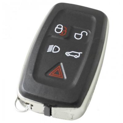 Land Rover 5-knops smart key met elektronica 434MHZ voor oa Range Rover - Freelander - Discovery 4