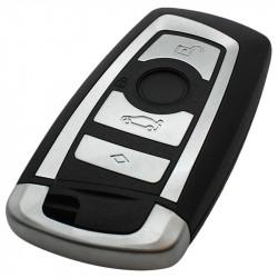 BMW 4-knops smart key behuizing met elektronica 433MHZ - PCF7953 transponder