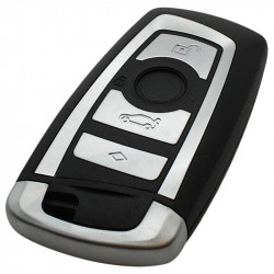 BMW 4-knops smart key behuizing met elektronica 868MHZ - PCF7953 - PC1800 transponder