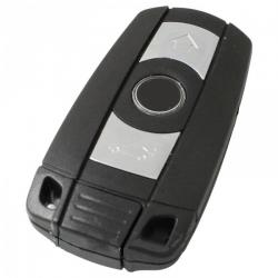 BMW 3-knops Smart Key Behuizing met elektronica 868MHZ - 7945 transponder
