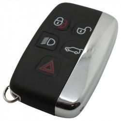 Land Rover 4-knops smart key met paniek knop met elektronica 434MHZ - PCF7953 transponder