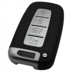 Kia 3-knops Smart Key Behuizing met elektronica 434MHZ - PCF7952 - ID46 transponder