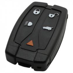 Land Rover 4-knops smart key met paniek knop met elektronica 434MHZ - PCF7945 transponder