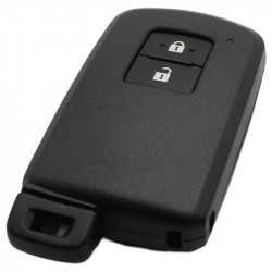 Toyota 2-knops Smart Key met elektronica 433/434MHZ - ID74 transponder - Toyota Yaris