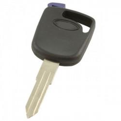 Ford contactsleutel met 4D60/4C transponder - sleutelbaard punt