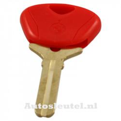 BMW motorsleutel rood - sleutelbaard recht