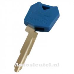 Kawasaki motorsleutel blauw - sleutelbaard punt