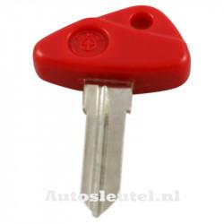BMW motorsleutel rood - sleutelbaard punt
