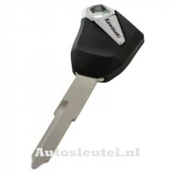 Kawasaki motorsleutel zwart - sleutelbaard punt (model 2)